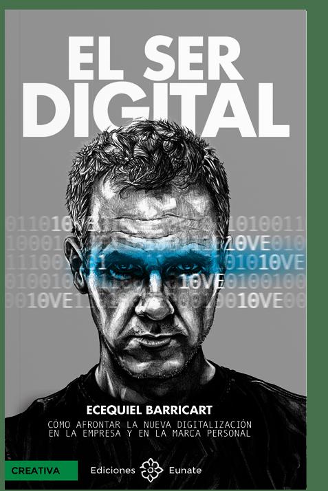 Portada de EL SER DIGITAL, 2021 ediciones Eunate